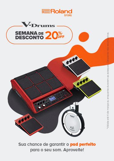 V-Drums - 20% OFF - Banner (Mobile)